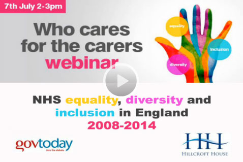 Webinar: Who cares for the carers?